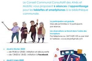 Atelier smartphones et tablettes